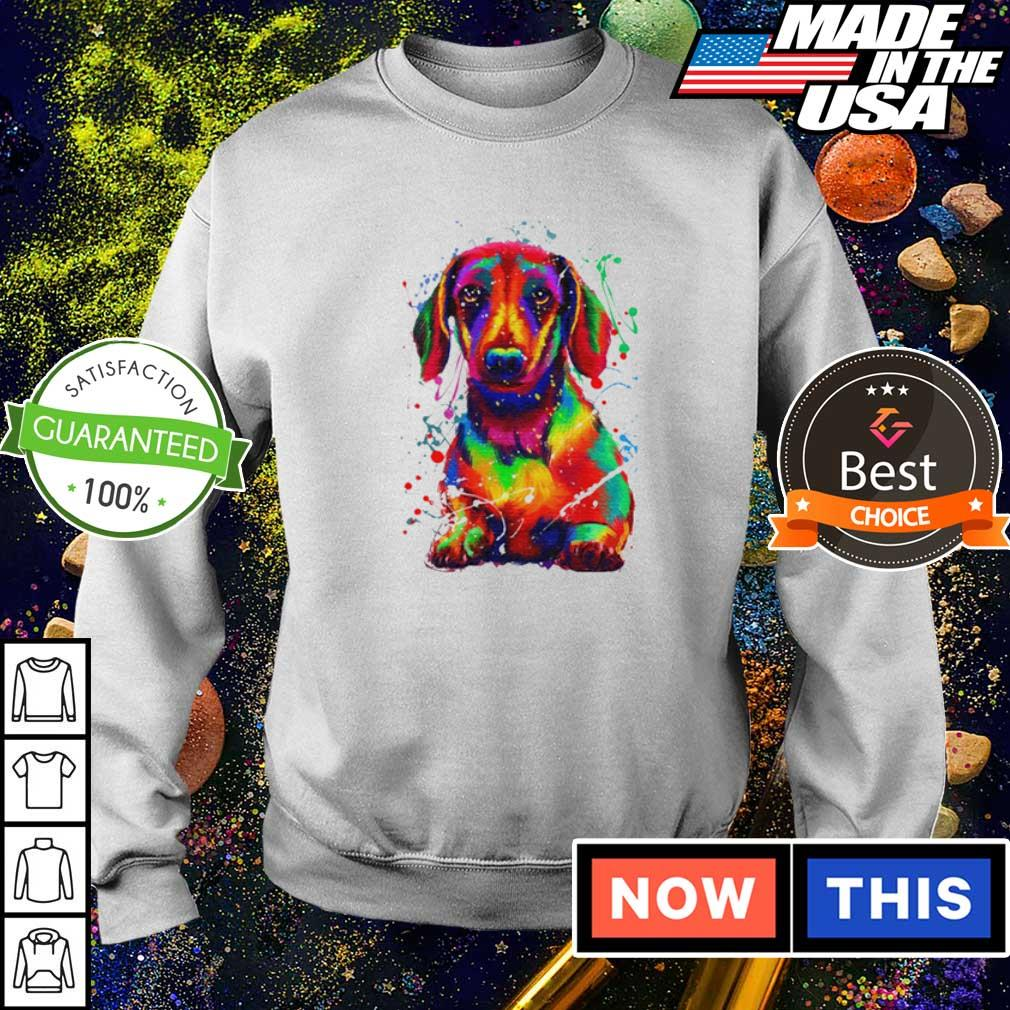 Awesome dachshund full color s sweater