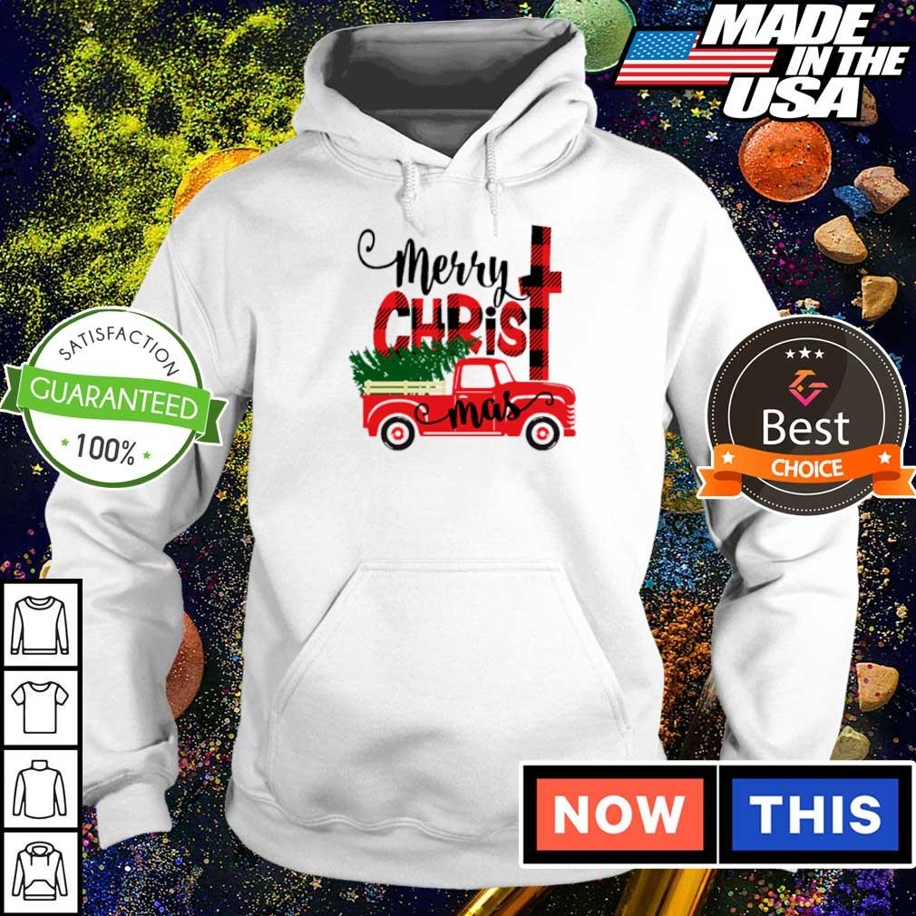 Awesome truck merry Christmas sweater hoodie