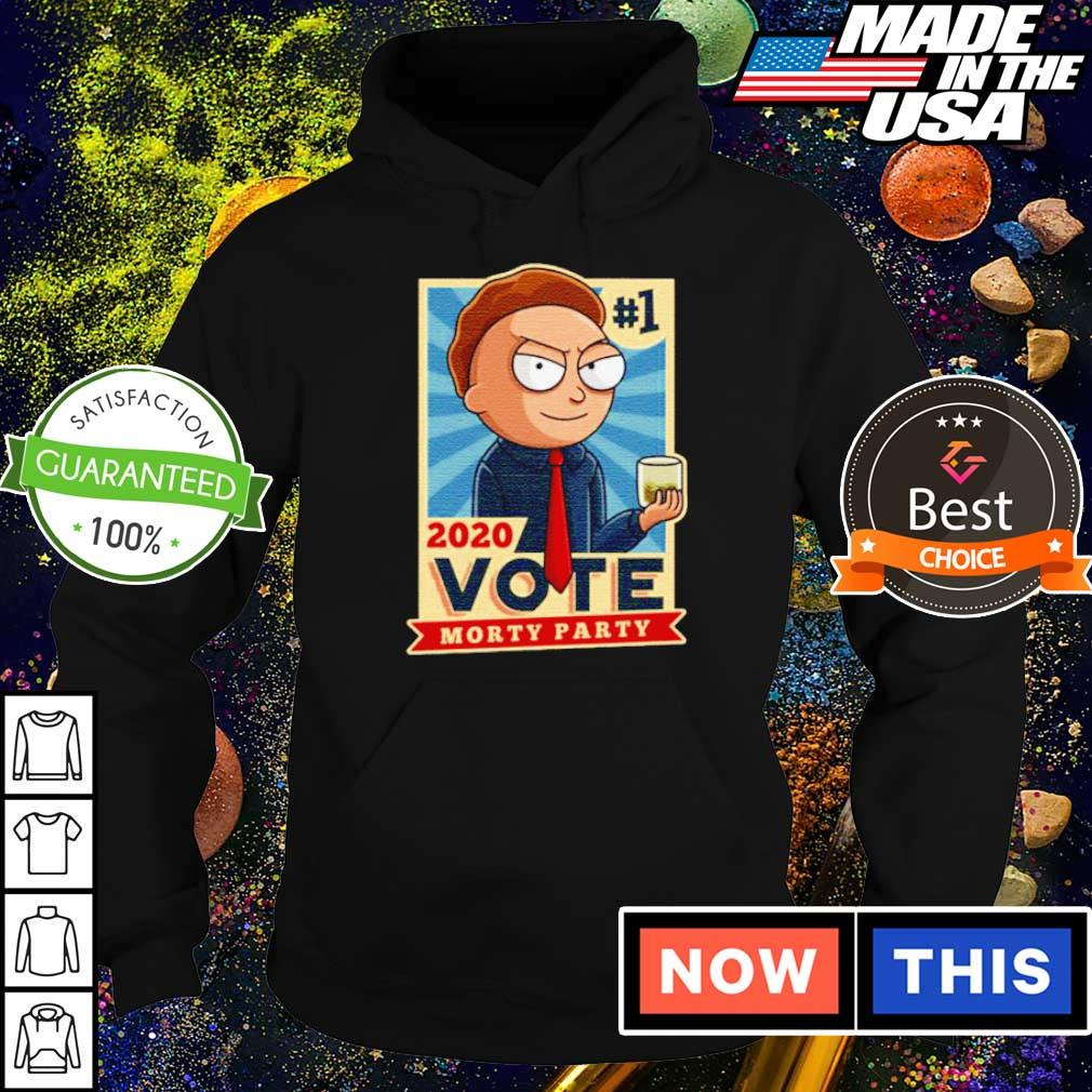Awesome vote Morty Party 2020 s hoodie