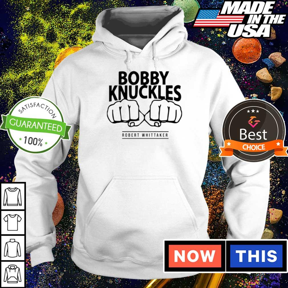 Bobby Knuckles Robert Whittaker s hoodie