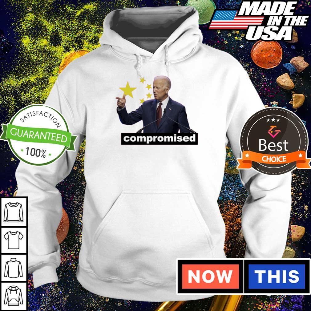 China Flag creepy Joe Biden compromised s hoodie