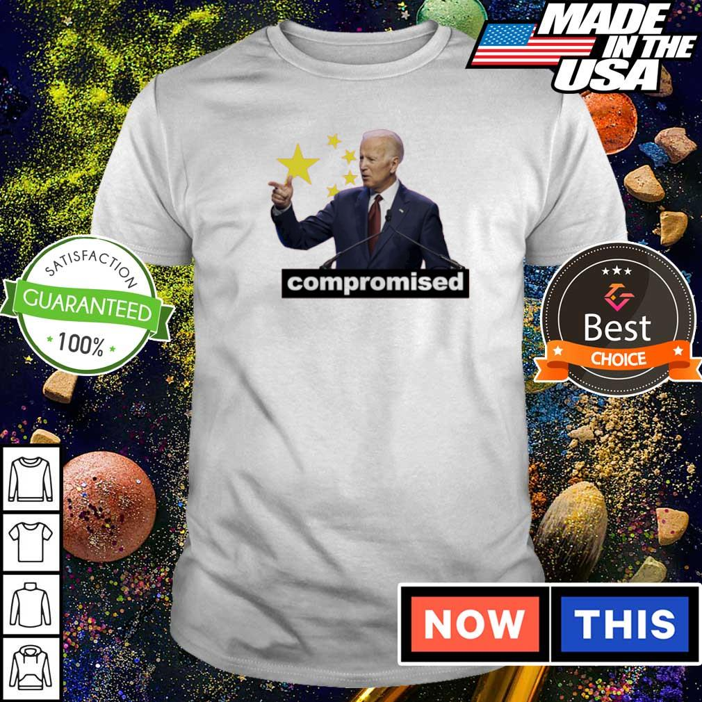China Flag creepy Joe Biden compromised shirt