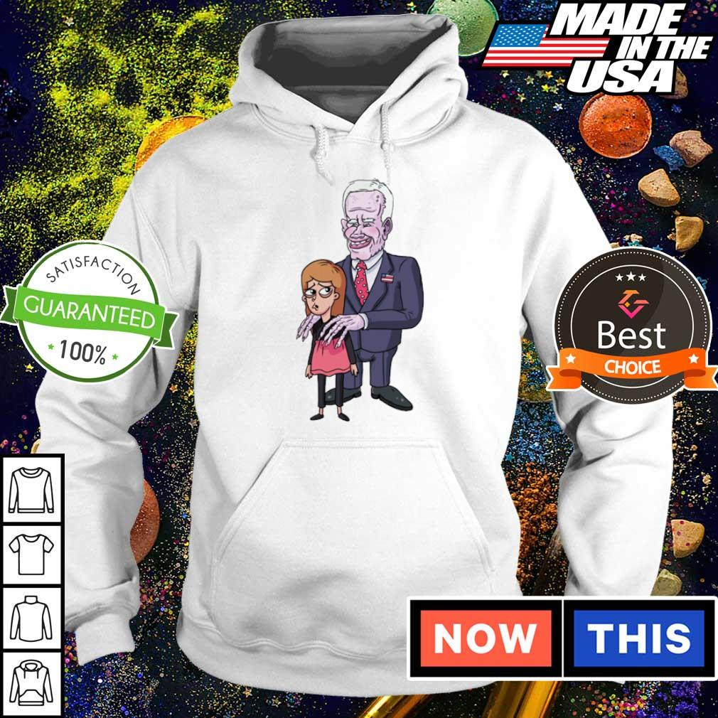 Creepy Joe Biden and kids s hoodie