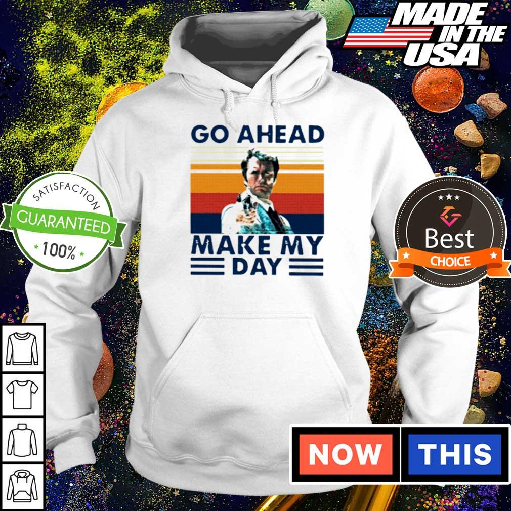 Dirty Harry go ahead make my day vintage s hoodie