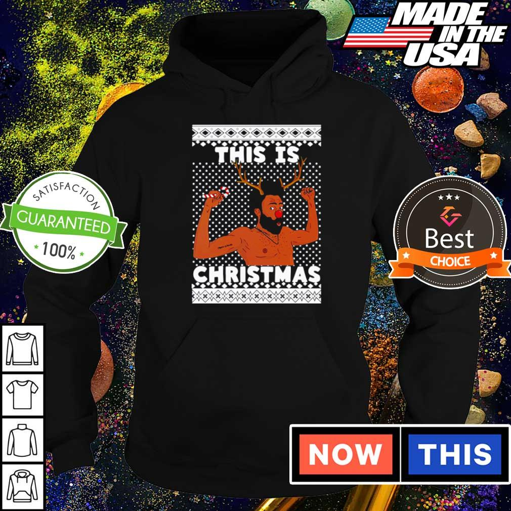 Donald Glover this is Christmas sweater hoodie