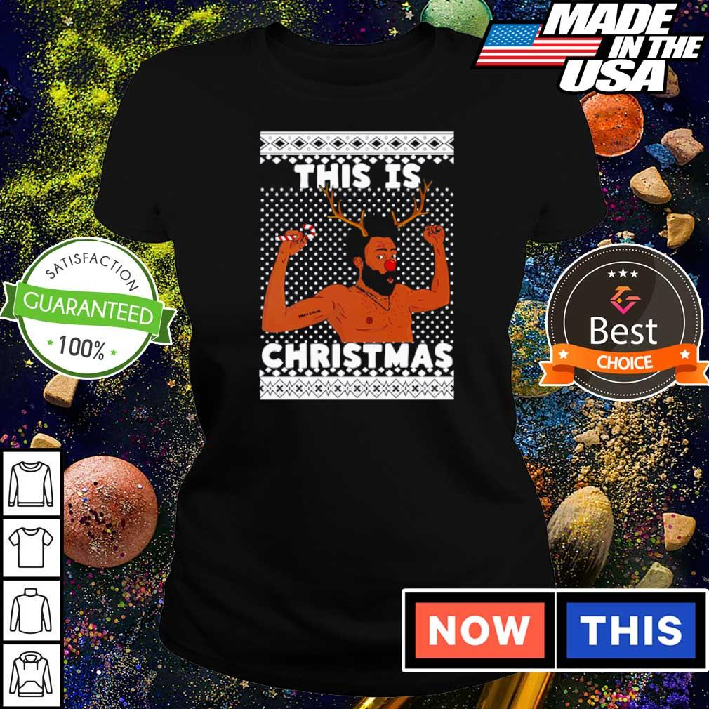 Donald Glover this is Christmas sweater ladies tee