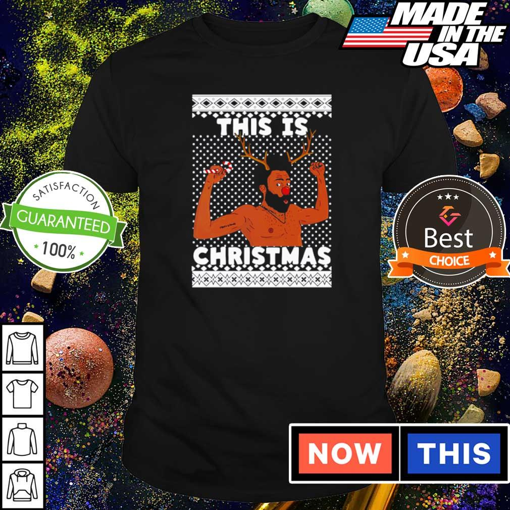 Donald Glover this is Christmas sweater shirt