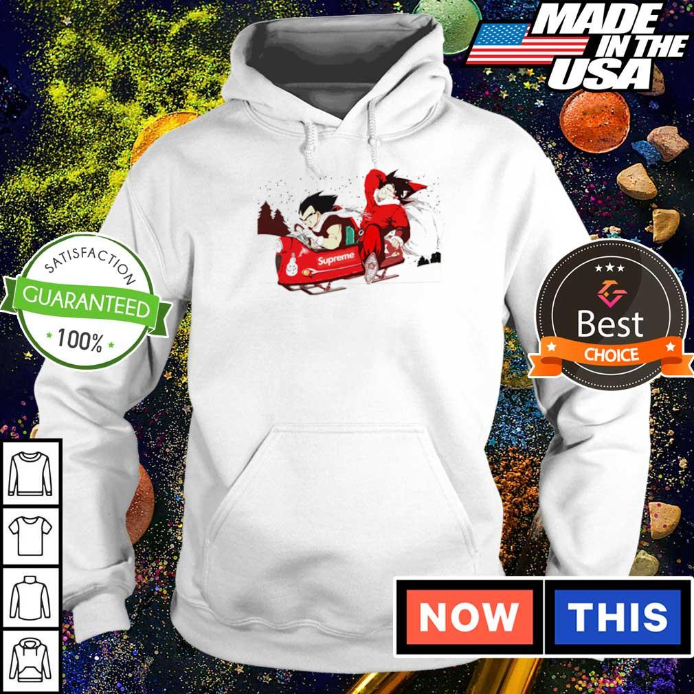 Dragon Ball Supreme merry Christmas sweater hoodie
