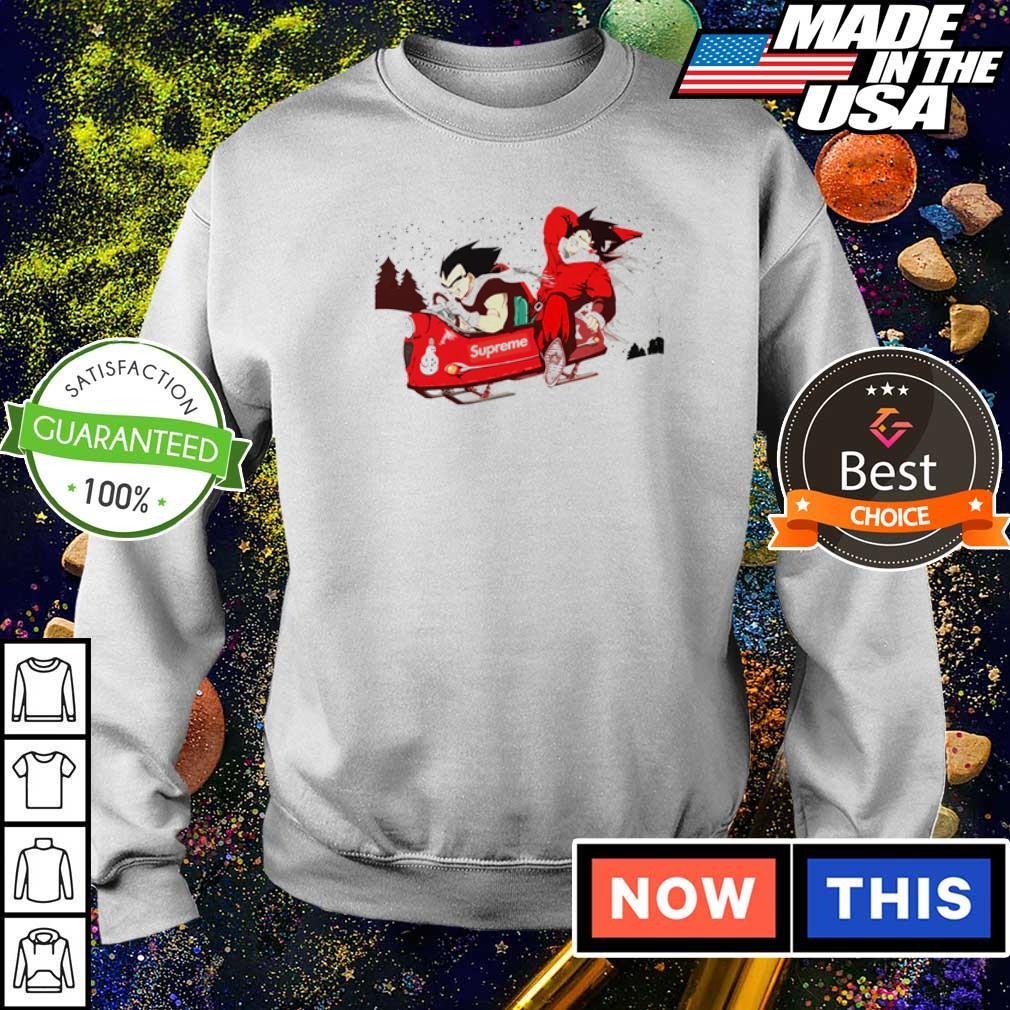 Dragon Ball Supreme merry Christmas sweater