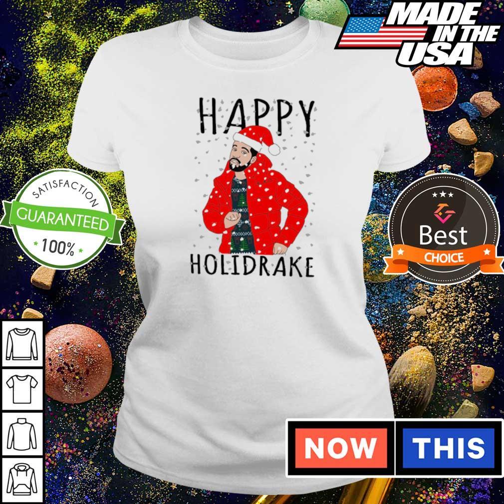Drake happy Holidrake merry Christmas sweater ladies