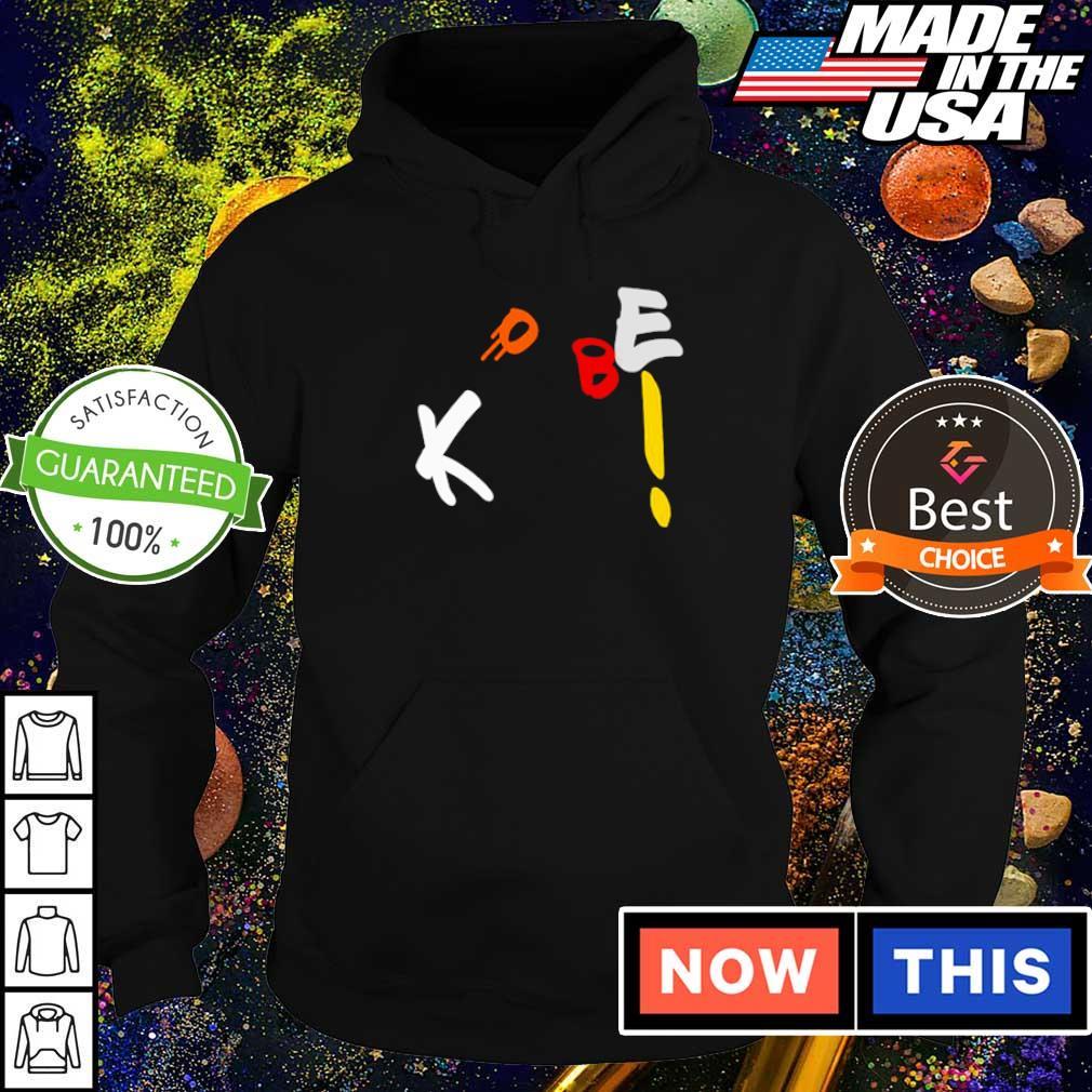 Funny Kobe Bryant throw the basketball s hoodie