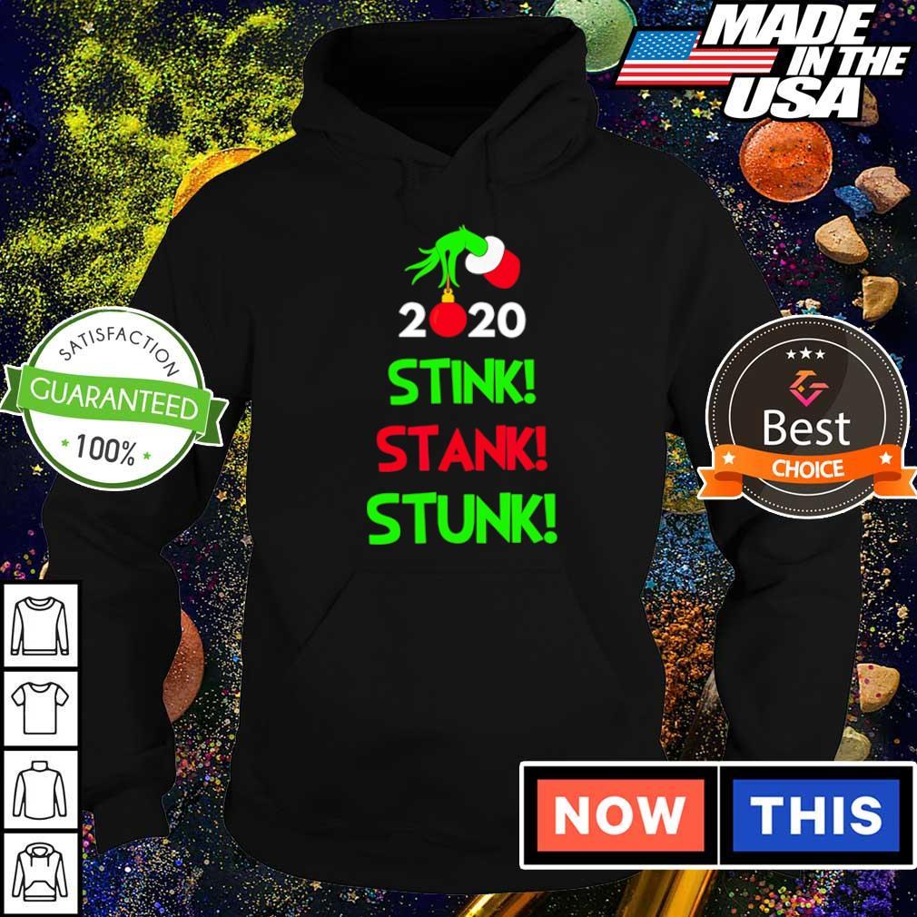 Grinch 2020 stink stank stunk Christmas sweater hoodie