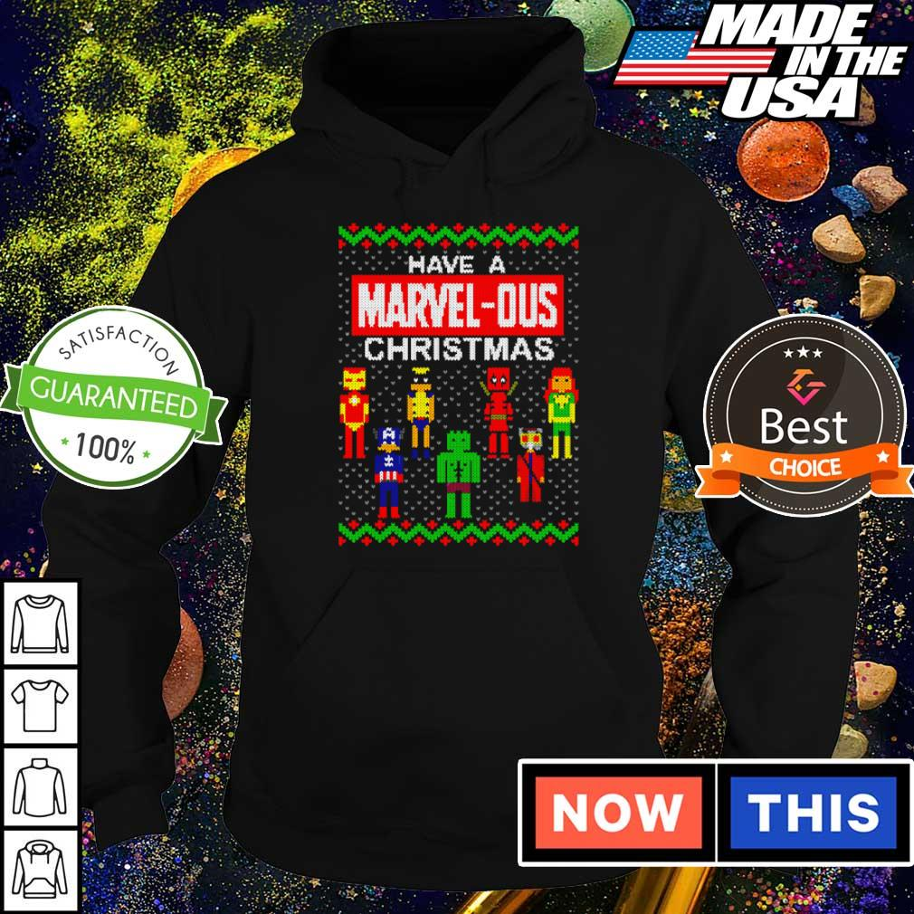 Have a Marvel-Ous Christmas sweater hoodie