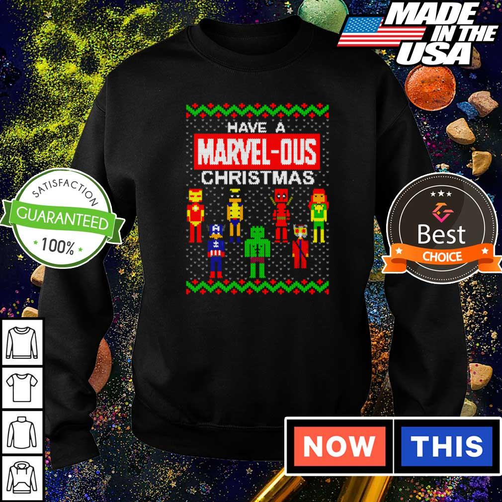 Have a Marvel-Ous Christmas sweater