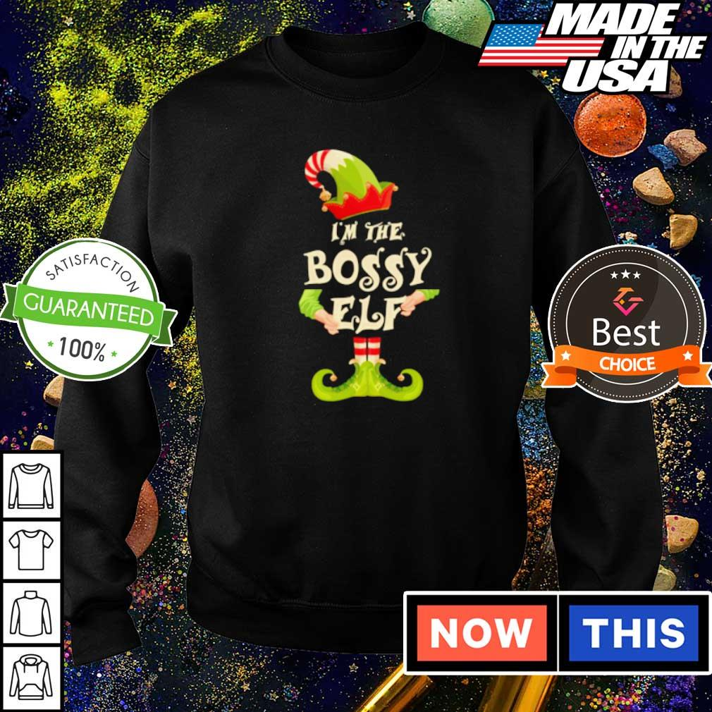 I'm the bossy elf merry Christmas sweater