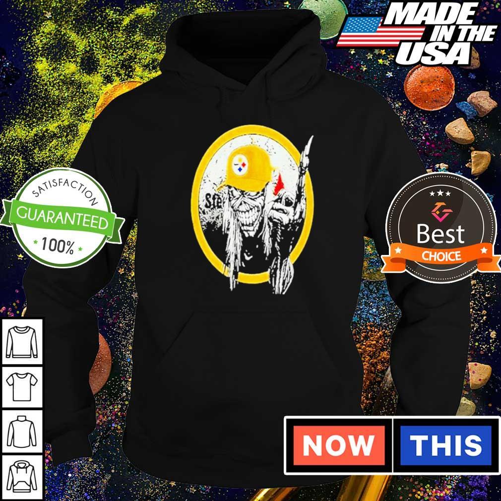 Iron Maiden fuck Pittsburgh Steelers 2020 s hoodie