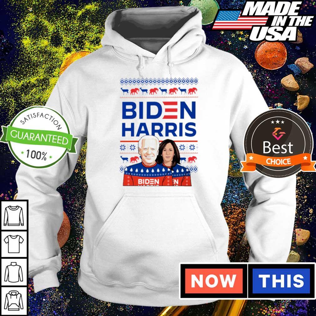 Joe Biden and Kamala Harris merry Christmas sweater hoodie
