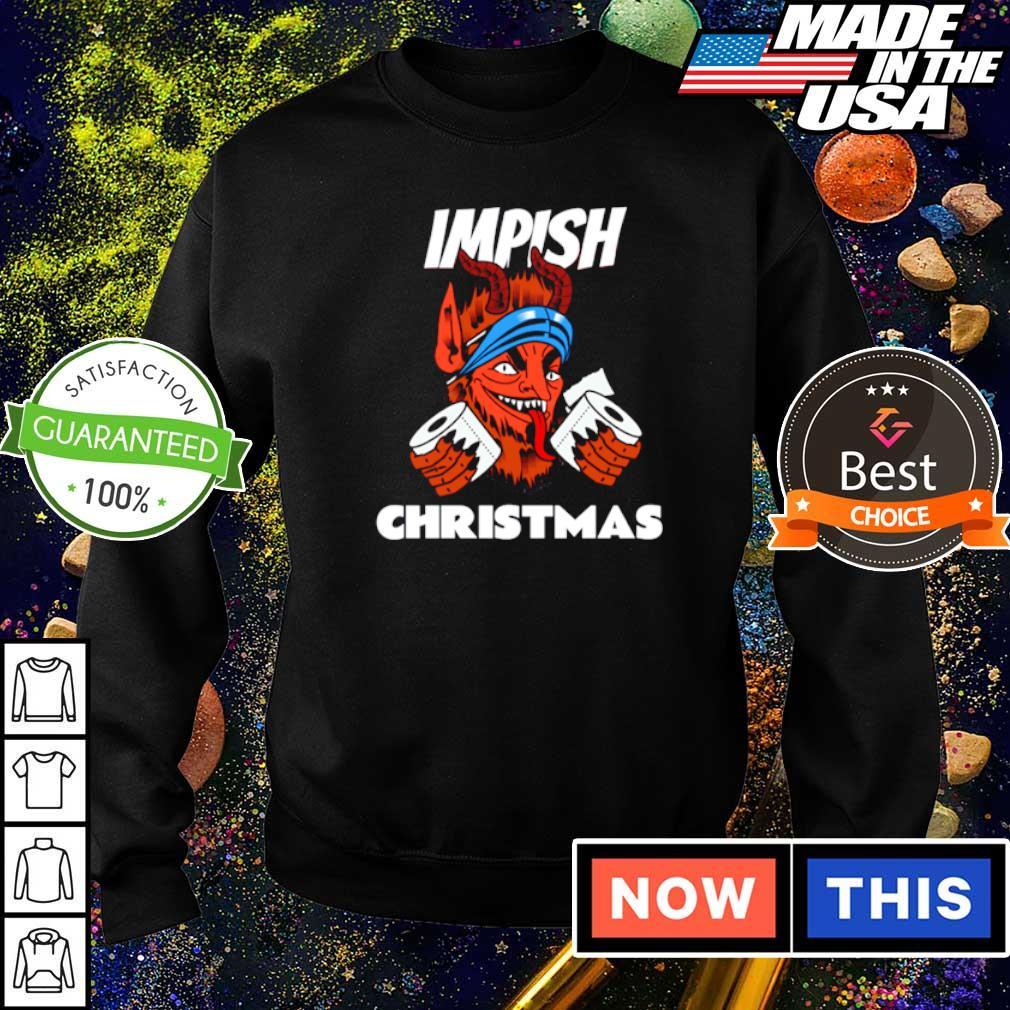 Krampus impish Christmas sweater