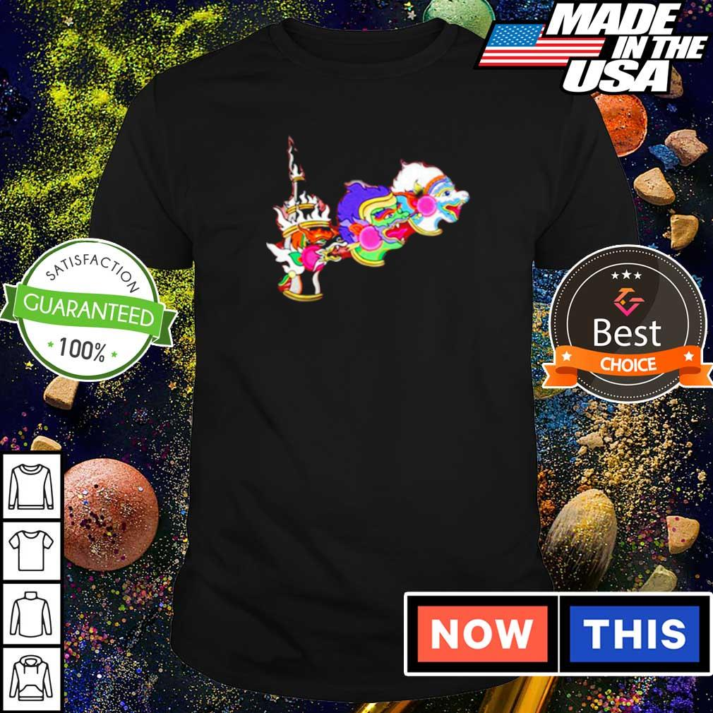 Lil Uzi Vert and Future dragon fly to the moon shirt