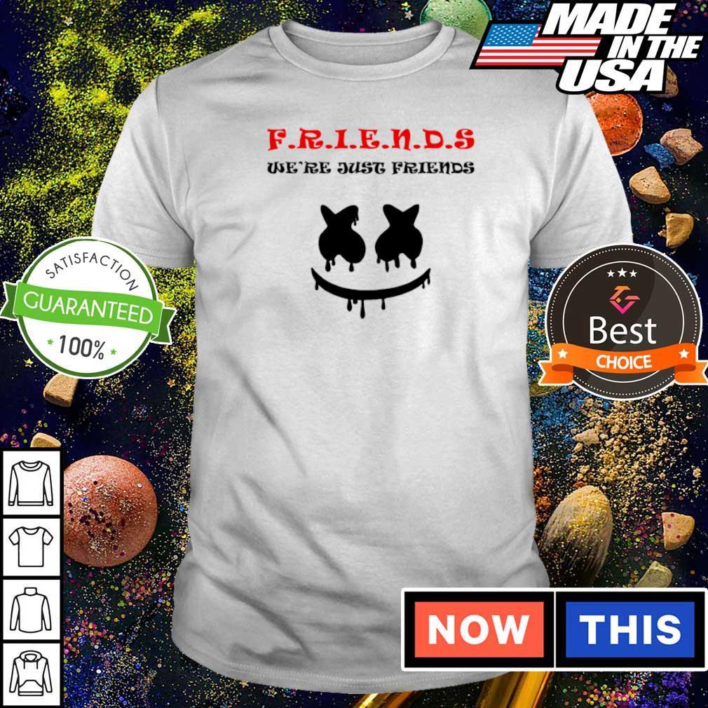 Marshmelle we're just friends shirt