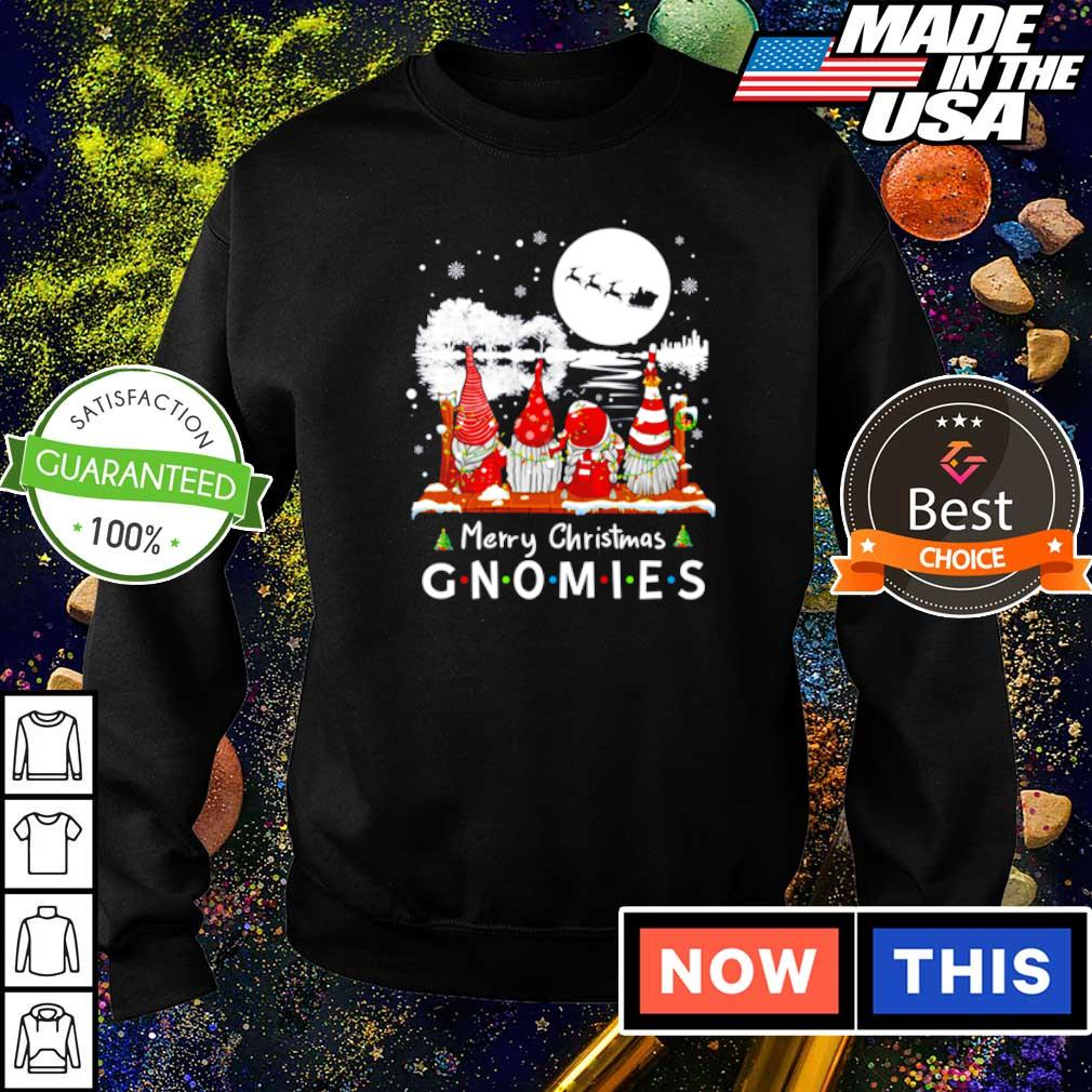 Merry Christmas with gnomies Friends TV Show sweater