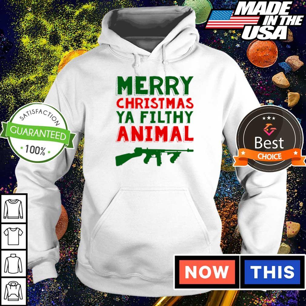 Merry Christmas ya filthy animal sweater hoodie