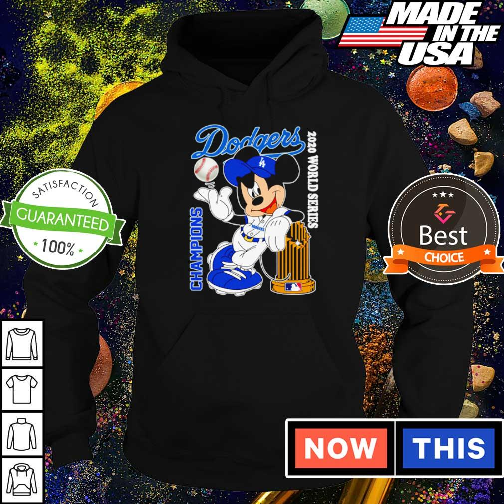 Mickey Mouse 2020 world series champions Los Angeles Dodgers s hoodie