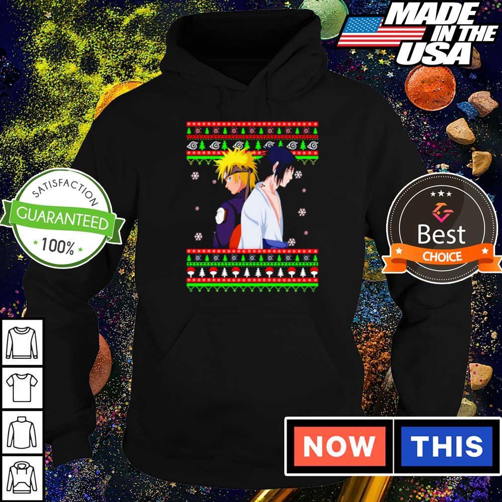 Naruto and Sasuke merry Christmas sweater hoodie