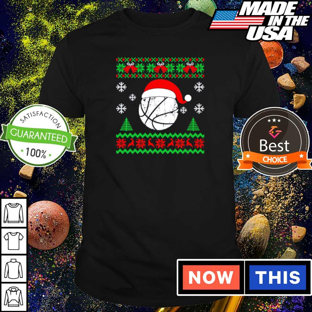 Official basketball merry Christmas sweater shirt