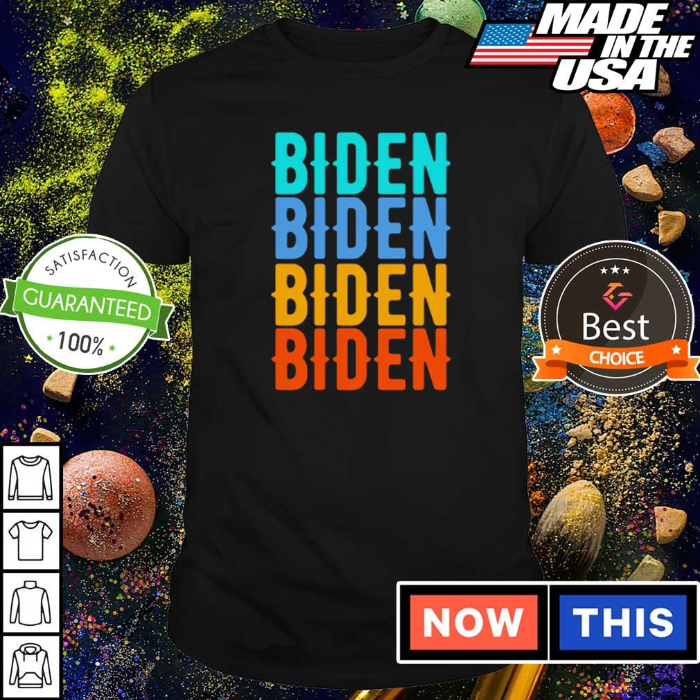 Official Biden for president shirt