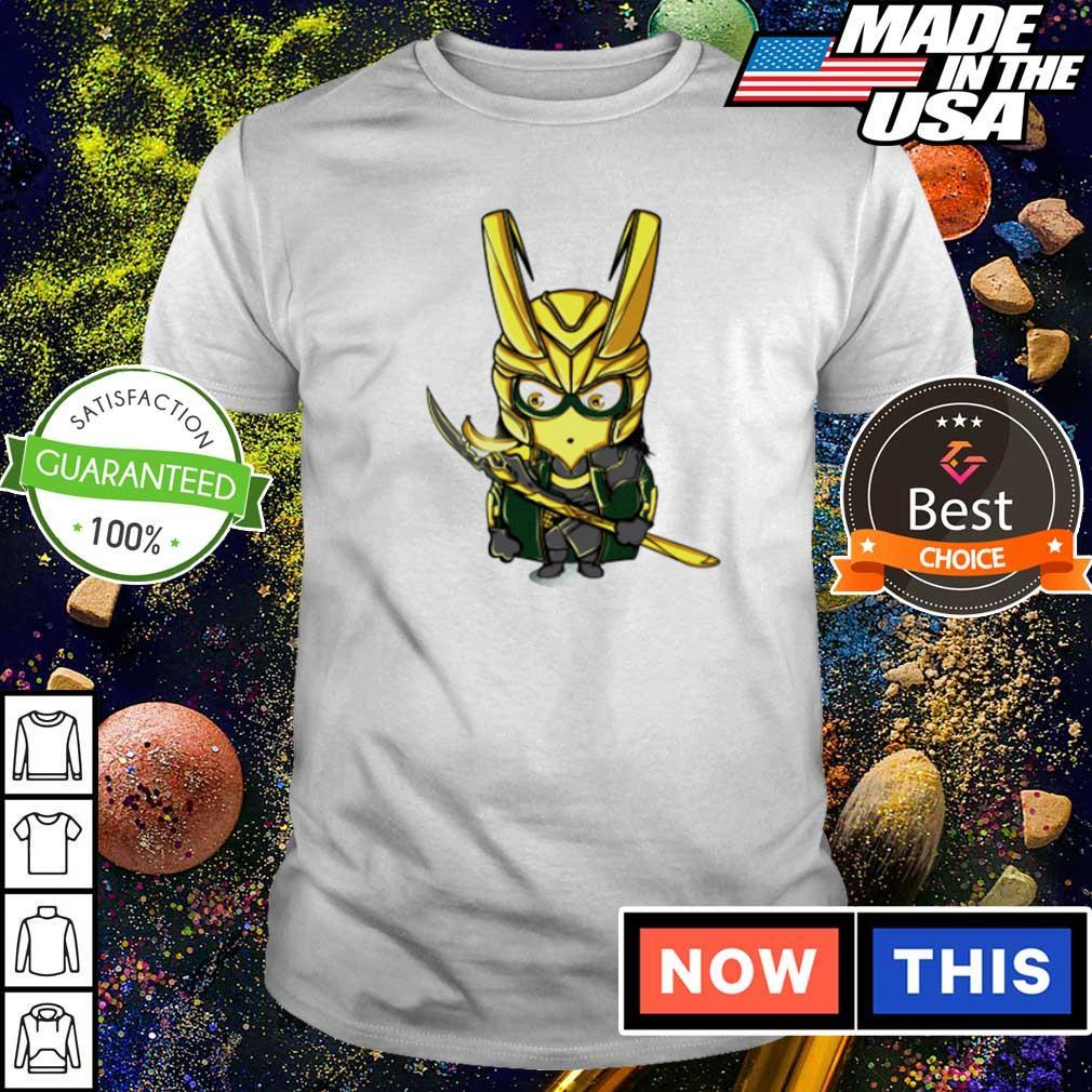 Official cute chibi Loki minion shirt
