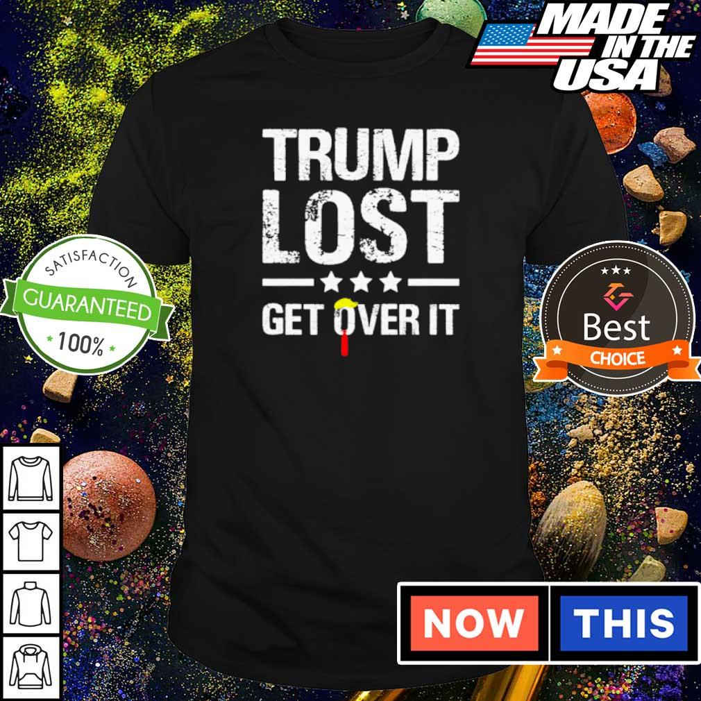 Official Donald Trump lost get over it shirt