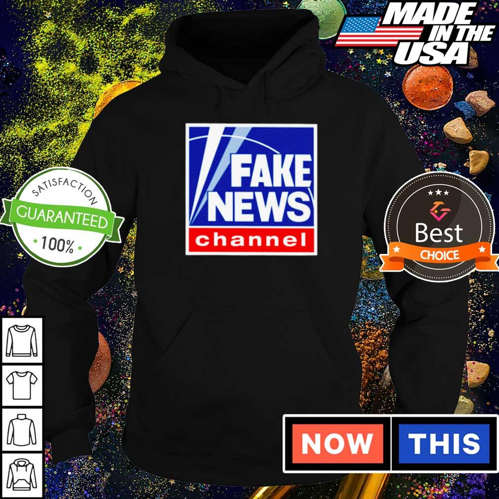 Official fake news channel s hoodie