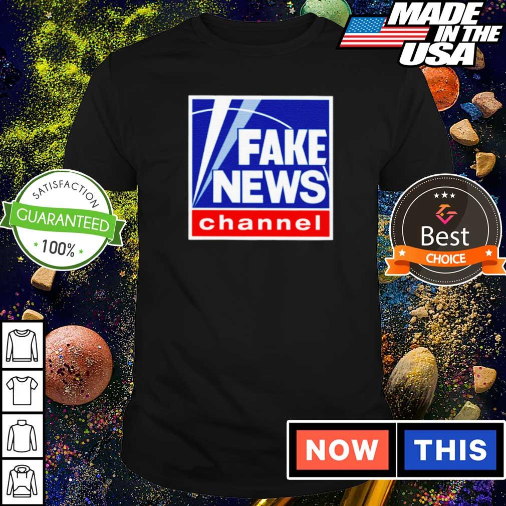 Official fake news channel shirt