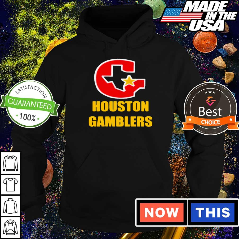 Official Houston Gamblers 2020 s hoodie