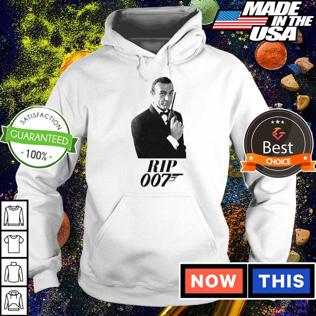 Official RIP Sean Connery 007 s hoodie