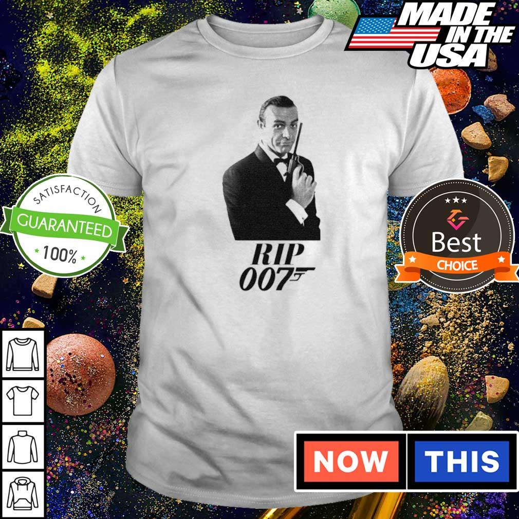Official RIP Sean Connery 007 shirt