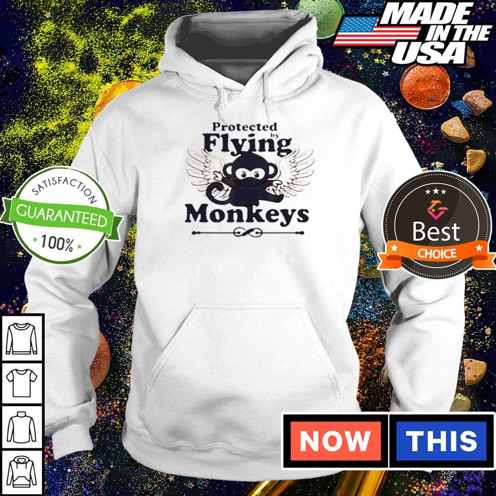 Protected by flying monkeys s hoodie