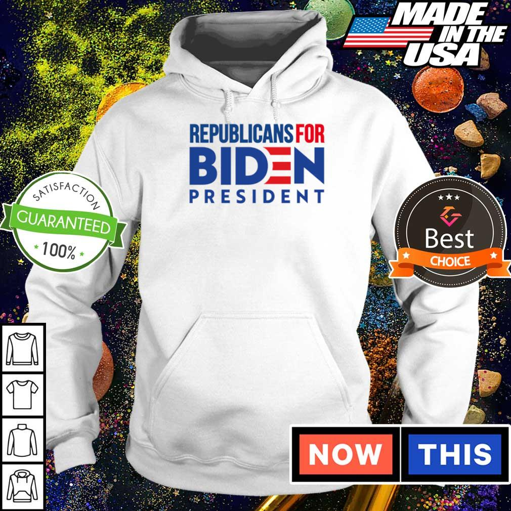 Republicans for Joe Biden president s hoodie