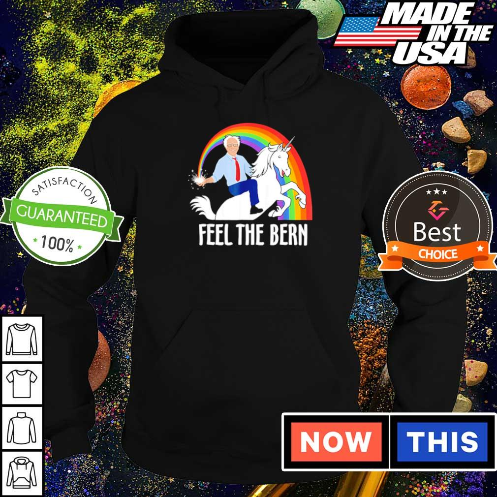 Riding unicorn feel the bern s hoodie