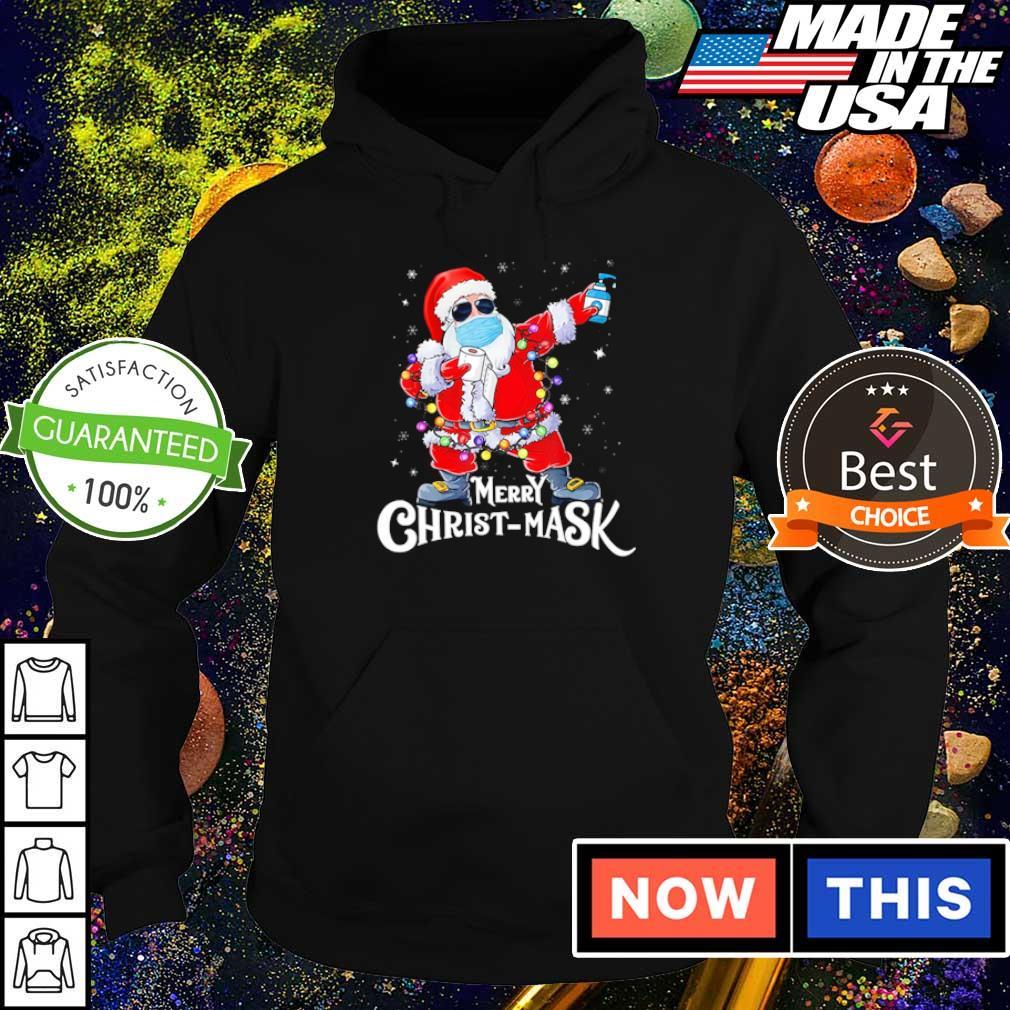 Santa Claus merry Christmask 2020 sweater hoodie