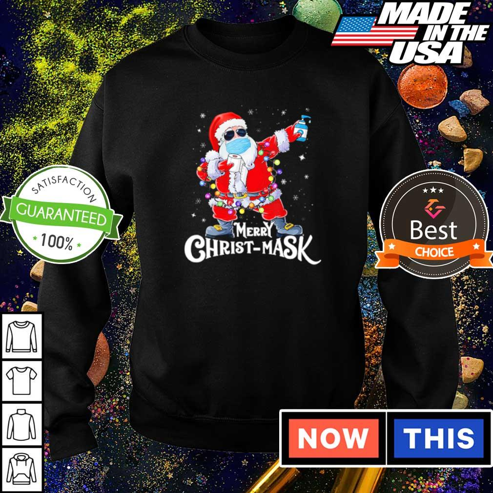 Santa Claus merry Christmask 2020 sweater