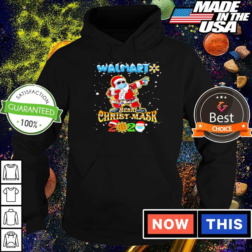 Santa Claus Walmart merry Christmask 2020 sweater hoodie