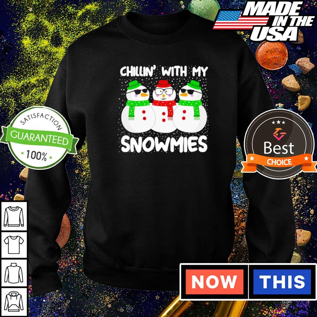 Snowman chillin' with my snowmies Christmas sweater