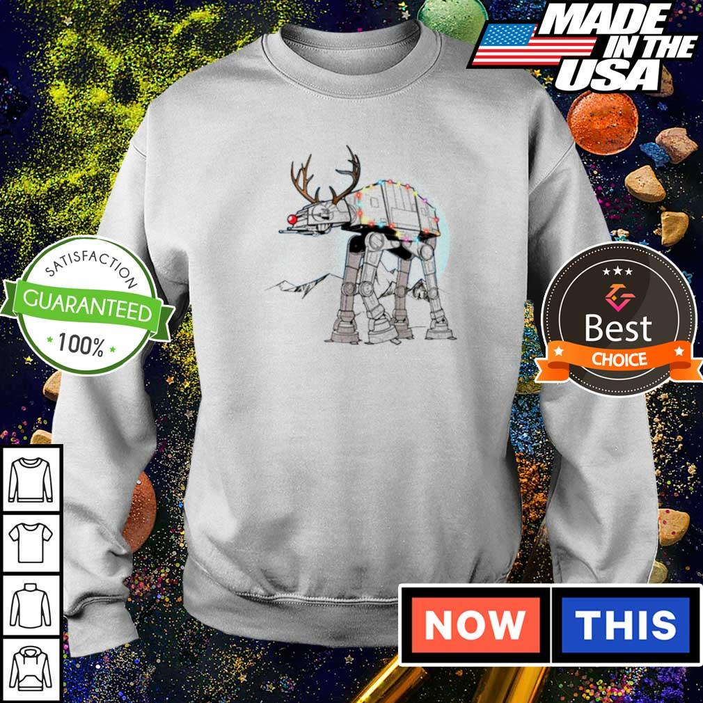 Star Wars rudolph atat walker reindeer merry Christmas sweater
