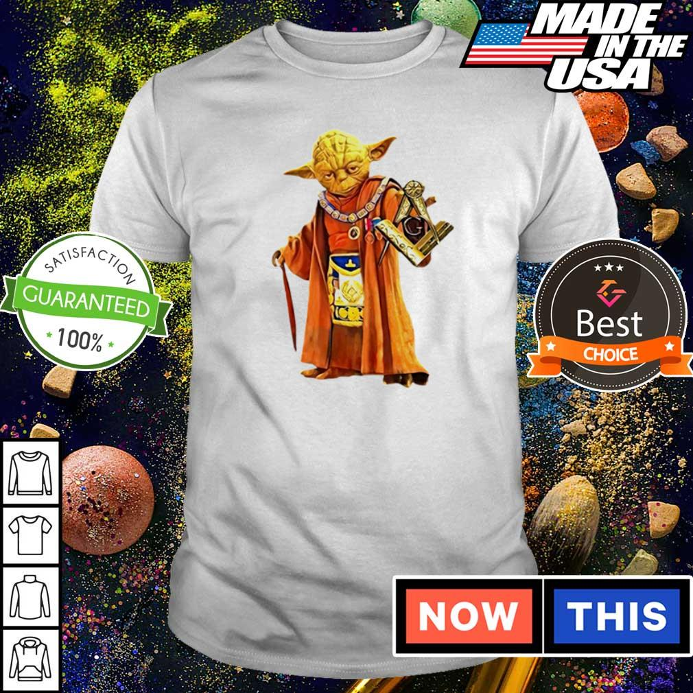 Star Wars Yoda master of freemason shirt