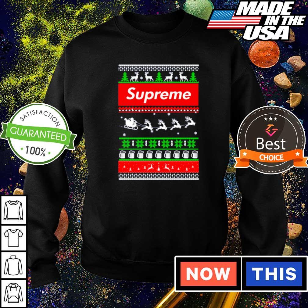 Supreme merry Christmas sweater