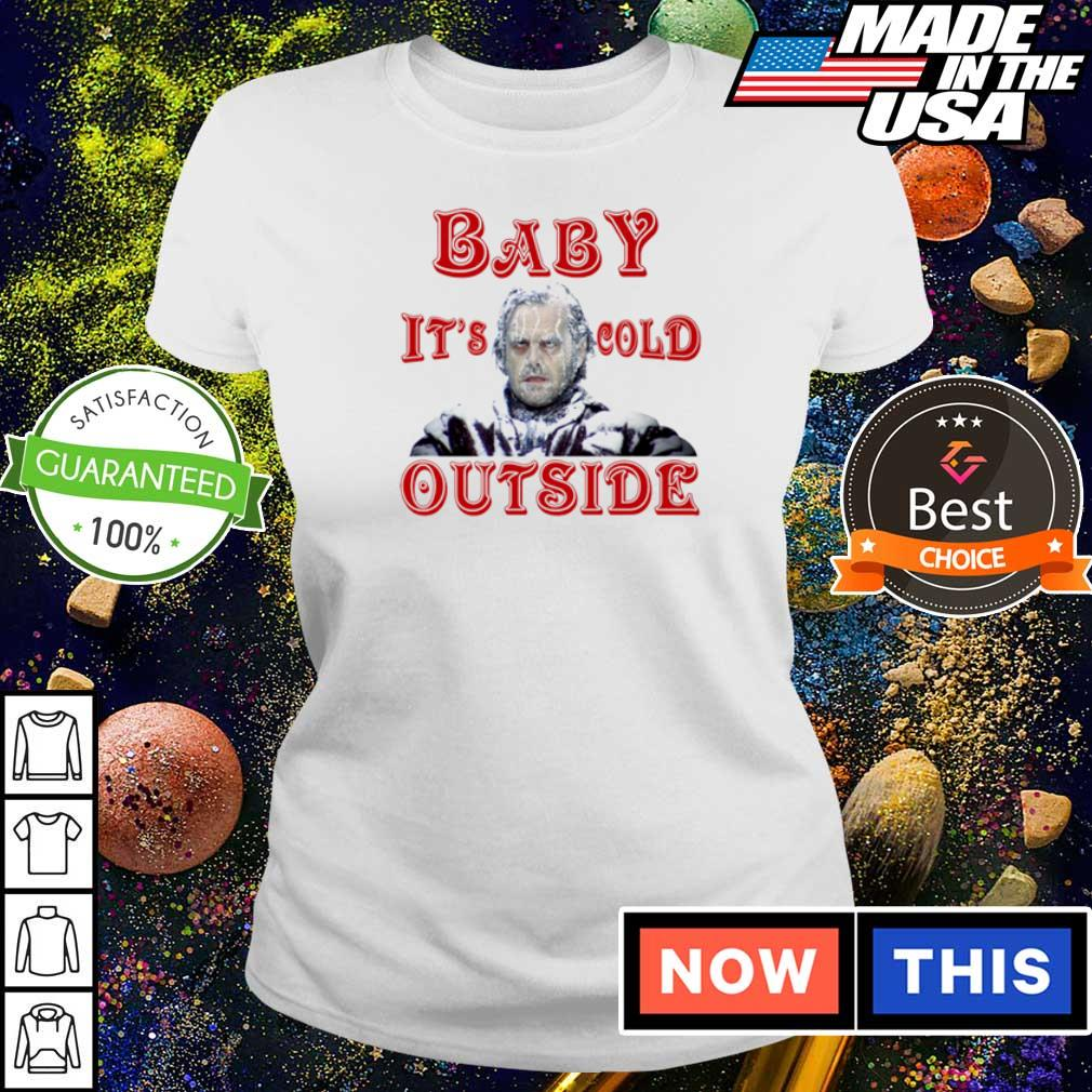 The Shining baby it's cold outside Christmas sweater ladies