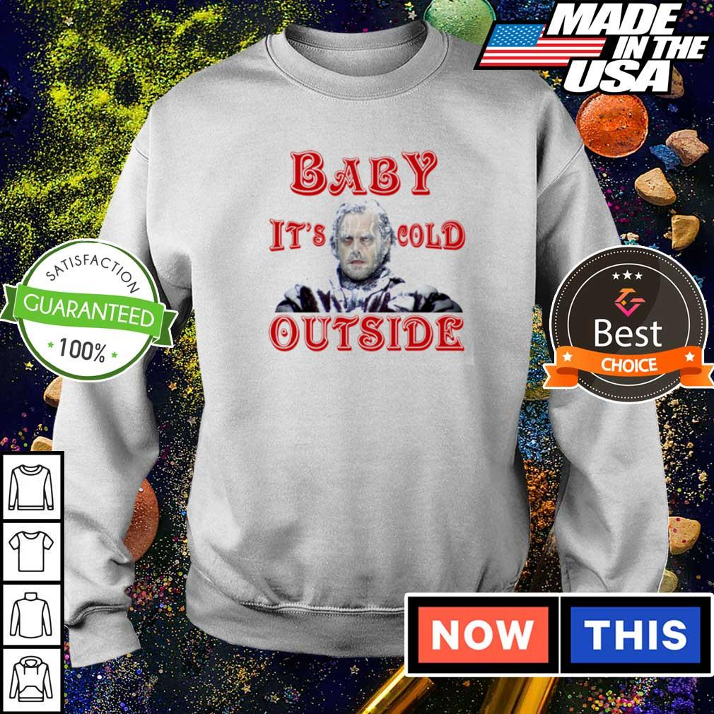 The Shining baby it's cold outside Christmas sweater