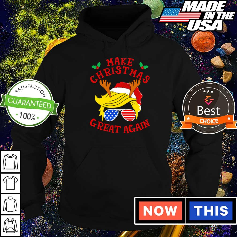 Trump support make Christmas great again sweater hoodie